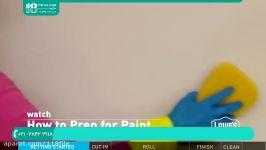 آموزش رنگ آمیزی ساختمان  نقاشی ساختمان  رنگ آمیزی دیوار رنگ آمیزی اتاق