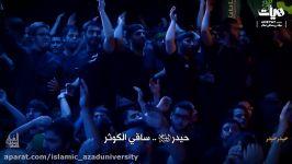 نماهنگ حیدر حیدر نوای حاج محمود کریمی ویژه شب های قدر شهادت امام علی