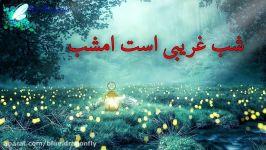 کلیپ شب قدر توسل به امام علی آهنگ شب قدر شهادت حضرت علی کلیپ تسلیت التماس دعا