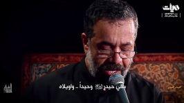 نماهنگ حیدر حیدر نوای حاج محمود کریمی ویژه شب های قدر