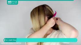 آموزش بافت مو  انواع بافت مو  بافت مو ساده بافت مو مدل هلندی 28423118 021