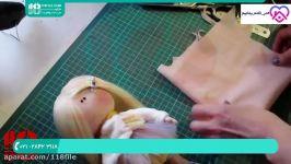 آموزش عروسک روسی  ساخت عروسک روسی  الگوی عروسک روسی