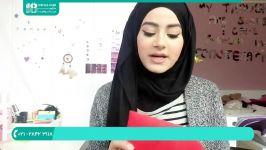 آموزش بستن شال روسری  بستن شال  روش بستن شال بازبینی آموزش حجاب