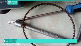 آموزش تعمیر چرخ خیاطی  تعمیر چرخ خیاطی  نحوه تعمیر چرخ خیاطی