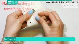آموزش تصویری کیف بافی  کیف مکرومه  کیف مکرومه بافی  کیف بافتنی 09120165405
