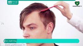 آموزش آرایشگری مردانه  پیرایش مردانه  اصلاح موی مردانه مدل موی مردانه