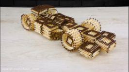 آموزش ساخت ماشین شگفت انگیز F1 Racing چوب کبریت