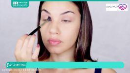 آموزش خودآرایی  میکاپ صورت  آرایش صورت  صورت بسیار زیبا  میکاپ صورت