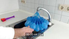 درست کردن بمب آب بادکنک کدوم بادکنک زودتر آب پر میشه؟