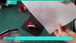 آموزش عروسک روسی  ساخت عروسک روسی  الگوی عروسک روسی  پای عروسک روسی