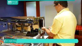 آموزش اسپرسو ساز  دستگاه قهوه ساز اسپرسو  اسپرسو ساز  قهوه ساز اسپرسو ساز