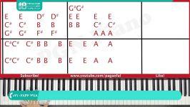 آموزش نواختن پیانو  پیانو نوازی  پیانو وکیبرد  پیانو زدن  پیانو مبتدی