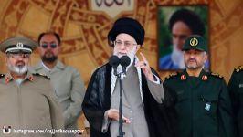 بیانات امام خامنه ای در دانشگاه افسری امام علی ع HD