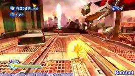 Super Sonic Generations  Super Sonic Vs Super Silver
