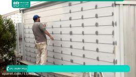 آموزش نقاشی ساختمان  رنگ امیزی خانه رنگ آمیزی دیوار پیستوله