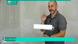 آموزش نقاشی ساختمان  رنگ آمیزی ساختمان  رنگ آمیزی سقف دیوار رنگ کردن سقف