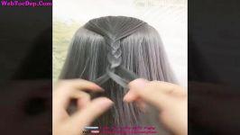 آموزش بافت مو NEW Easy Hairstyles For 2020 ️13 Braided Back To School HEATLESS