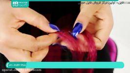 آموزش بافت مو  بافت مو دخترانه  بافت مو ساده بافت بلند 02128423118