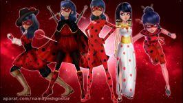طراحی های جدید دخترکفشدوزکی لیدی باگ میراکلس لیدی باگ