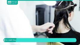 آموزش کوتاهی مو  کوتاه کردن مو  مدل مو کوتاه زنانه کوتاه کردن موی بلند فر