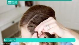 آموزش بافت مو  مدل بافت مو  بافت مو ساده دخترانه بافت مو 0 تا 100