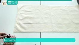 آموزش دوخت کیف  دوخت کیف پارچه ای زنانه کیف دوشی خرید 02128423118