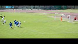 دیدار دوستانه تیم ملی فوتبال جوانان ایران ایتالیا
