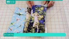 آموزش دوخت کیف  دوخت کیف پارچه ای  کیف زنانه دوخت کیف عینک