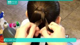 آموزش بافت مو  بافت مو ساده  مدل بافت مو دخترانه بافت موی کودکان