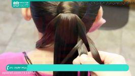 آموزش بافت مو  بافت مو ساده  مدل بافت مو دخترانه بافت مو مدل موجی