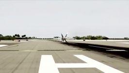 جنگنده سوپر هورنت F 18 برای شبیه ساز الماس