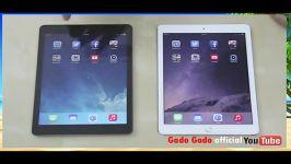 iPad Air 2 vs iPad Air review Speed Test game