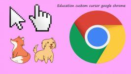 اموزش تغییر نشانگر موس در گوگل کروم