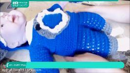 آموزش بافتنی  بافت لباس بچگانه  لباس بافتنی  لباس بچه گانه بافتنی 02128423118