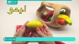 آموزش الفبای فارسی  کلمات حروف  حروف به کودک  حروف کلمات به کودکان