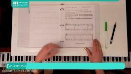 آموزش پیانو کیبورد  نواختن پیانو  پیانو نوازی  پیانو مبتدی  تصویری پیانو