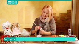 آموزش ساخت عروسک روسی  الگوی عروسک روسی  پای عروسک روسی  کفش عروسک روسی