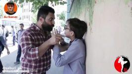 علی صبوری علی کلمن میشود  کلیپ خنده دار علی صبوری