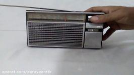 کلیپ کارکرد رادیو ۲ موج قدیمی ناسیونال پاناسونیک