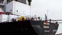 بارگیری کشتی حامل کمک های انسان دوستانه به مردم یمن