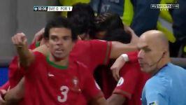 تمام هتریک های کریستیانو رونالدو در تیم ملی پرتغال