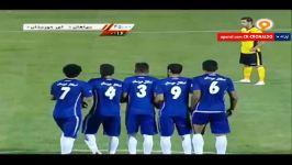 خلاصه بازی سپاهان 1  0 استقلال خوزستان رفت