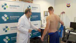 تست پزشکی بازیکنان بارسلونا مسی ، نیمار ...
