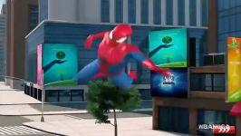 جنگ مرد عنکبوتی الکترو در بازی مرد عنکبوتی اندروید