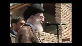 بازدید سر زده رهبر معظم انقلاب منطقه زلزله زده استان آذربایجان شرقی