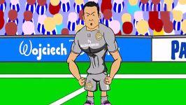 پنتا تریک رونالدو به روایت انیمیشن