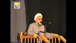 روضه خوانی دکتر روحانی در شب تاسوعا سال84