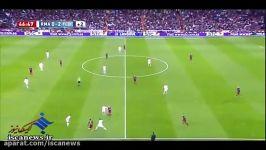خلاصه بازی بارسلونا 4  0 رئال مادرید ال کلاسیکو