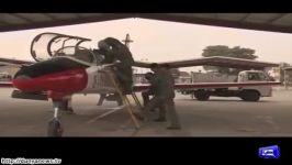 شهادت خلبان زنِ پاکستانی در سانحه سقوط جنگنده
