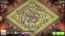 Clash of Clans  Town Hall 10 3 star Queen Zap Queen